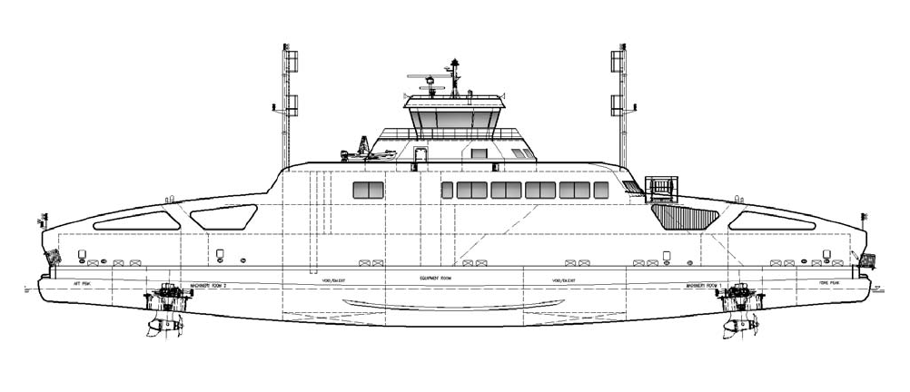 LMG60-DE DOUBLE ENDED FERRY