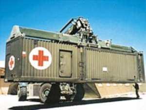 Wojskowy Szpital Kontenerowy MP200
