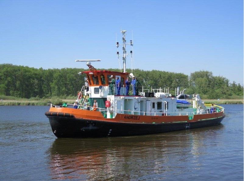 Lodołamacz liniowy 29m dla RZGW Szczecin